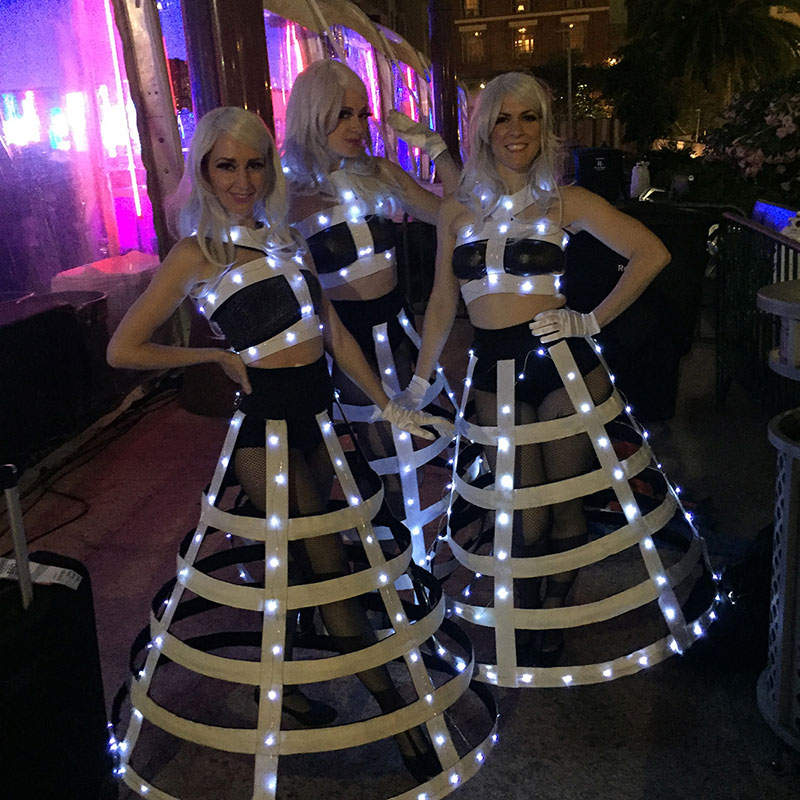 Hire LED Performers