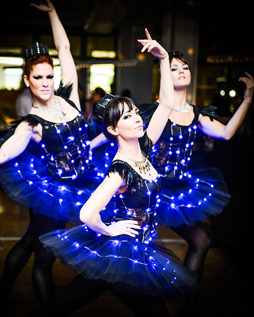 Hire Ambient and Go-Go Performers