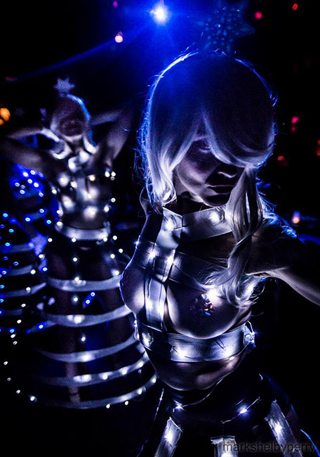 Hire LED Performers NYC