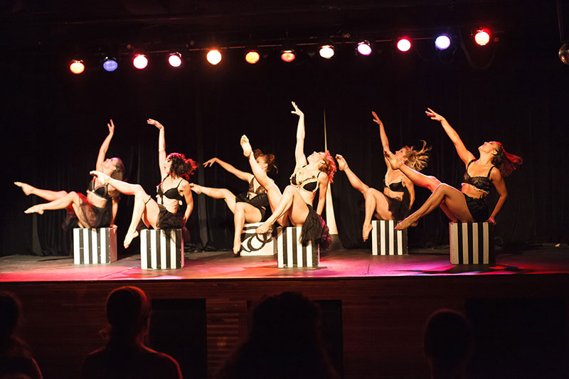 Showgirls and Talent dance troupe