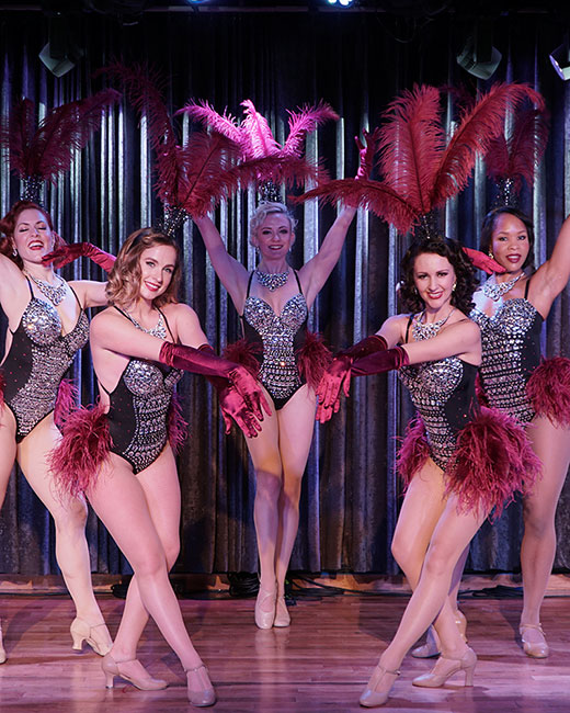 hire classic showgirls dancers nyc event entertainment