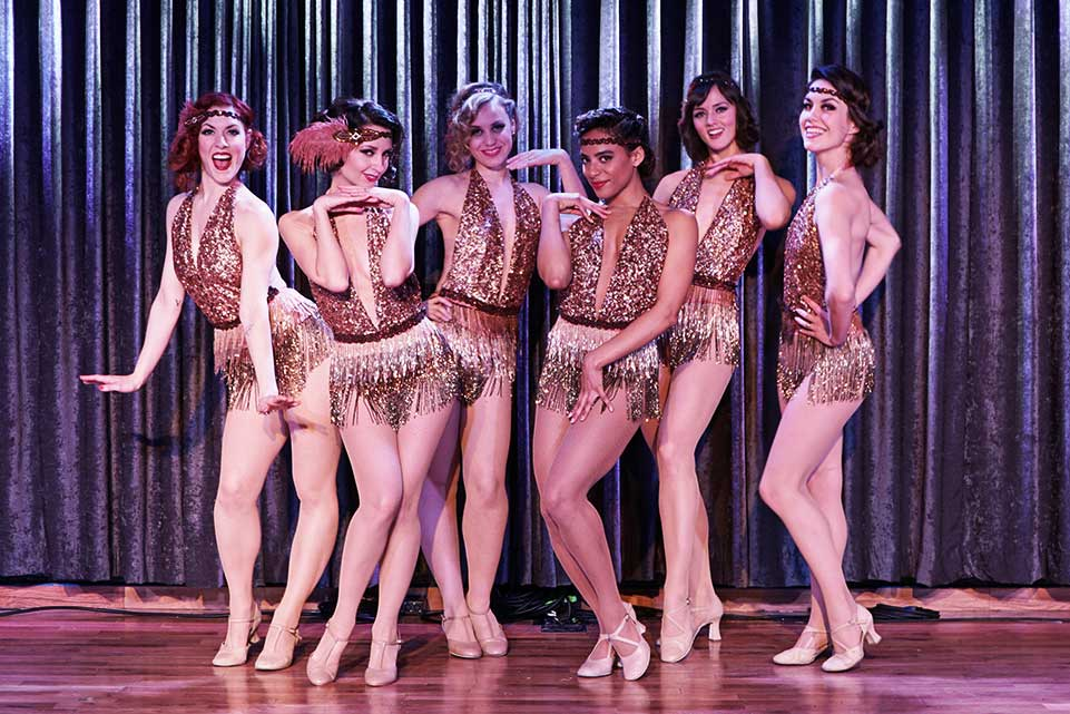 Hire The Painted Ladies Showgirls Dance Troupe